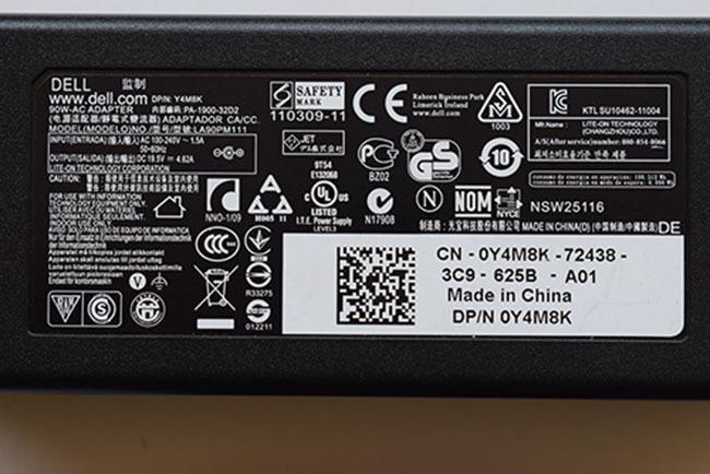 Sạc pin laptop dell latitude E6500 E6420 E6430 chính hãng