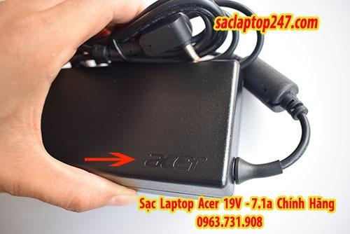 sạc laptop acer 19v 7,1a chính hãng
