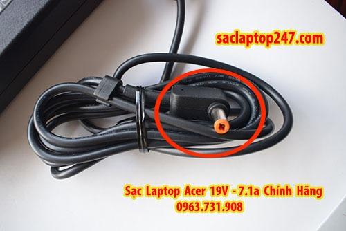 sạc laptop acer 19v 7,1a zin bóc máy